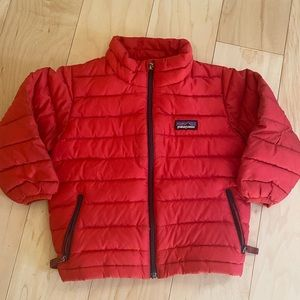 Patagonia down sweater size 2T